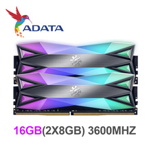 ADATA XPG DDR4 D60 RGB RAM 16GB 3600mhz Desktop Memory CL18 original and new