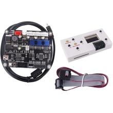 цена на GRBL 1.1 USB Port CNC Engraving Machine Control Board, 3 Axis Control,Engraving Machine Board with Offline Controller V3.4