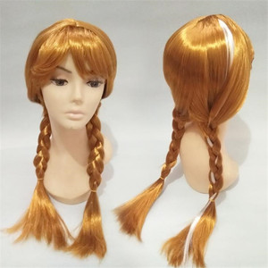 Girl Elsa Cosplay Wig Hallowee