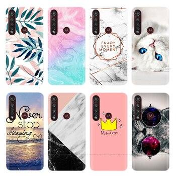 Перейти на Алиэкспресс и купить Чехол для телефона Motorola Moto G8 Play / G8 Plus / One Macro / One Action, силиконовый мягкий ТПУ чехол для задней панели, Fundas Bumper