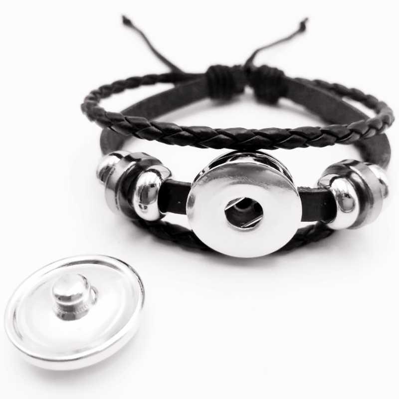 2019 Hot Sale! Arrival Riverdale Leather Bracelet Riverdale Jewelry Glass Dome Rotating Black Men's Bracelet