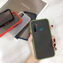 For OPPO Realme 5i 6i XT X2 Case Matte Shockproof Case For OPPO Realme 6 Pro C3 5 Q Pro 5i 5S A9 A5 2020 A7 A5S AX5S AX7 Reno(China)