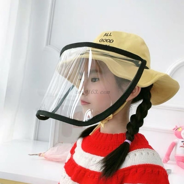 Safety Removable adjustment Anti-saliva Anti Droplet Dust-proof Full Face Protective Cover Mask Visor Shield 2