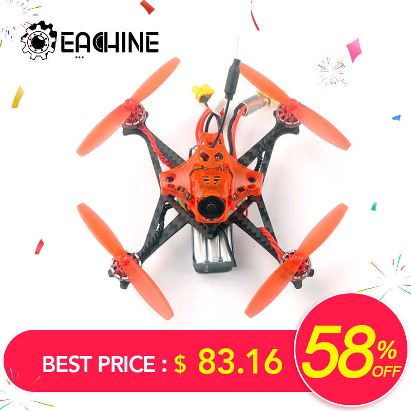 Eachine RedDevil 105mm 2-3S FPV Racing Drone Whoop PNP/BNF Crazybee F4 PRO Caddx EOS2 5,8G 25 ~ 200mW VTX RC helicóptero Quadcopter