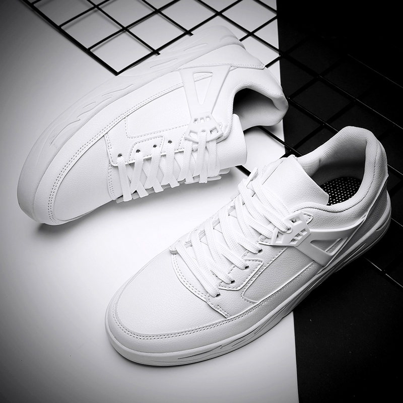 New Arrival White Sneakers Men Classic Skateboarding Shoes Man Student Comfortable Flat Shoe Trainer Leisure Fitness Sport Shoes