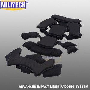 Image 5 - MILITECH Stack Gebouwd Geavanceerde Impact Liner Padding Systeem Voor Flux/SNEL/MICH/OPS Core/ACH /MTEK/PASGT Ballistische Helm