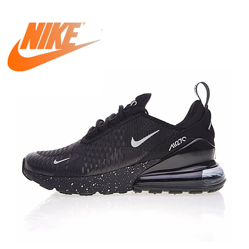 Original Nike Air Max 270 Men's Breathable Running Shoes Sport 2018 New Arrival Authentic Outdoor Sneakers Designer AH8050-202