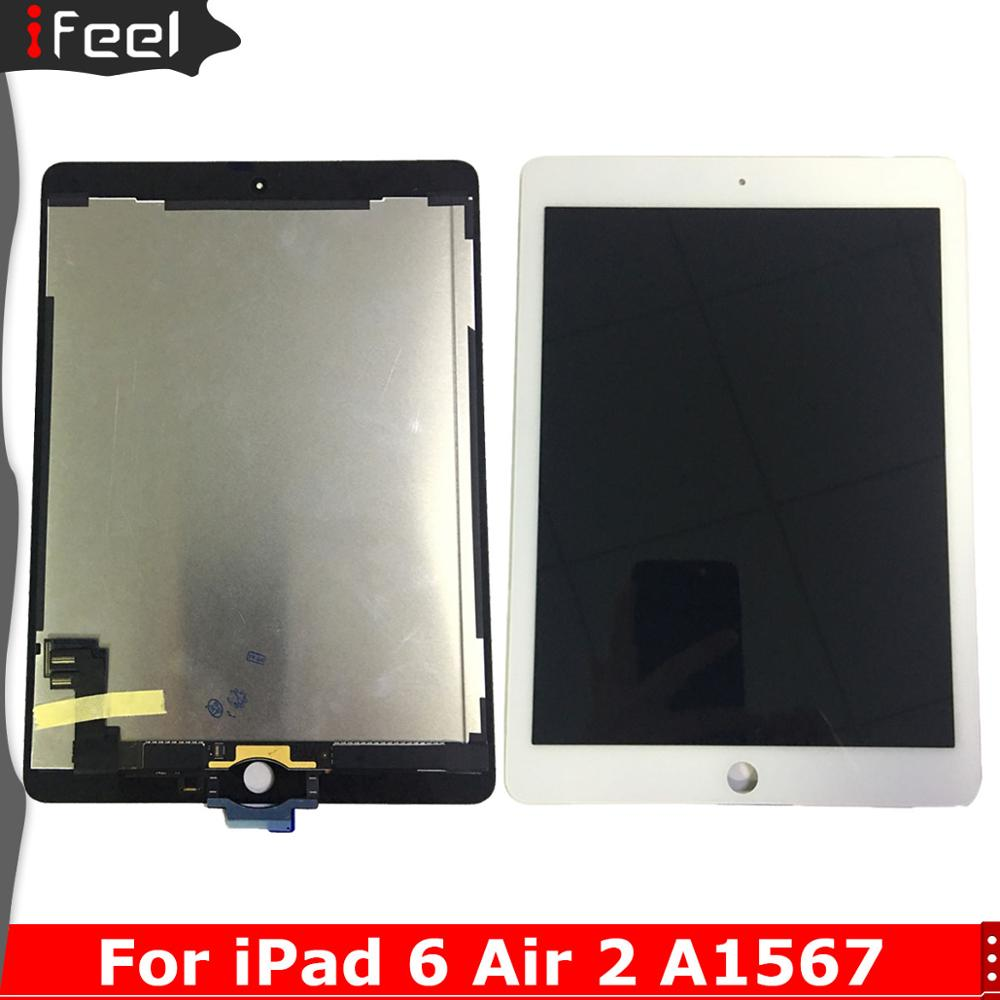 LCD Display Touch Screen Digitizer Assembly Replacement For iPad Air 2 2nd Gen