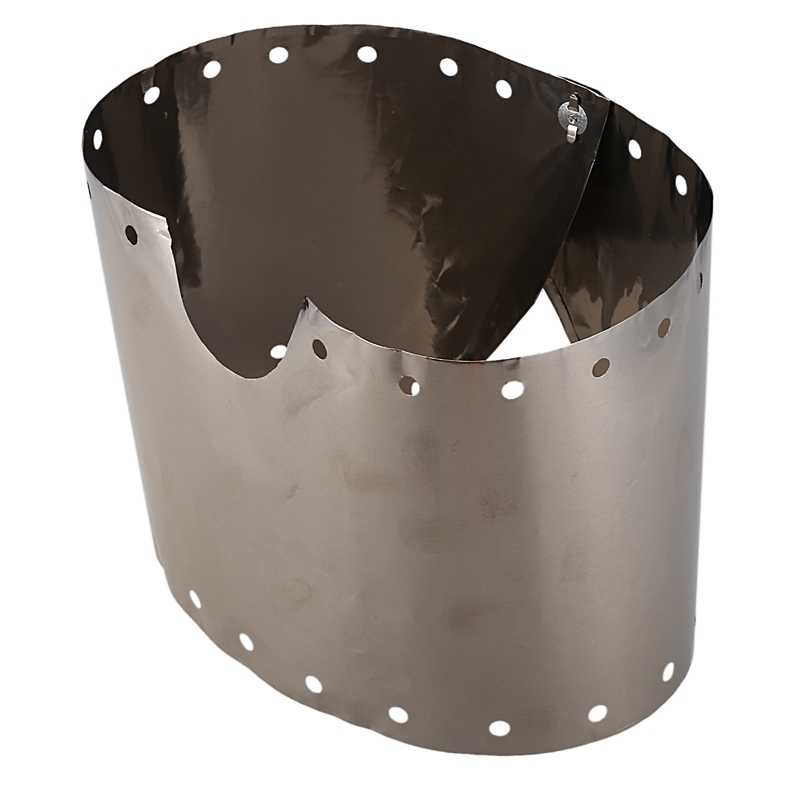 Top Sell Titanium Camping Stove Wind Shield Screen Windproof P CR