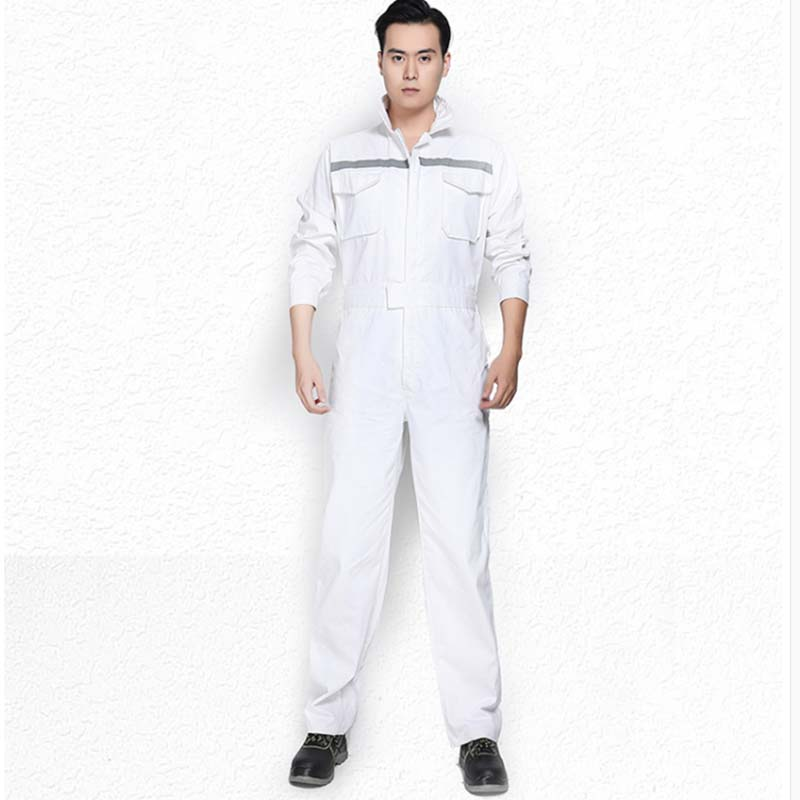 Workshop Uniform Workwear Men Women Working Overalls Coveralls Long Sleeves Reflective Spring Autumn Car Repair Men Mechanical