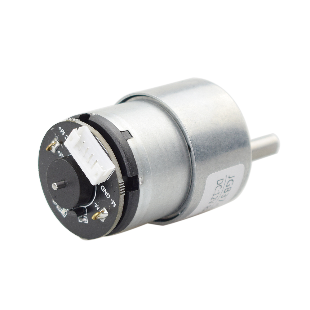 12V 330rpm High Torque DC Motor With Hall Encoder For Speed Feedback Self-balancing Robot Car Chassis Mecanum Wheel Parts