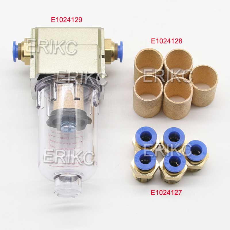 ERIKC Öl Düse Collector Werkzeug S Typ 7mm P Typ 9mm Verbinden Prüfstand Für BOSCH DENSO KATZE SIEMENS Common Rail Diesel Injektor