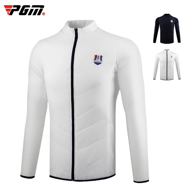 PGM Men Autumn Winter Thicken Golf Jacket Full Zipper