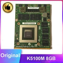 Geforce K5100M K 5100M N15E-Q5-A2 8GB VGA Video Grafikkarte Für DELL M6700 M6800 HP 8770W ZBOOK17 g1 G2 Arbeits Perfekt