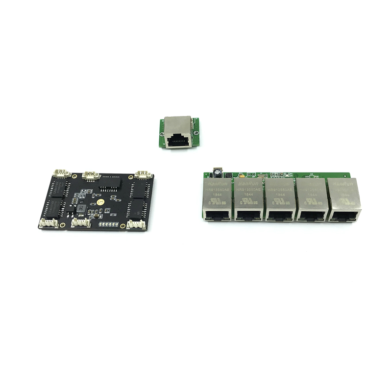 Unmanaged 5port 10/100M Industrial Ethernet Switch Module  PCBA Board OEM Auto-sensing Ports PCBA Board OEM Motherboard