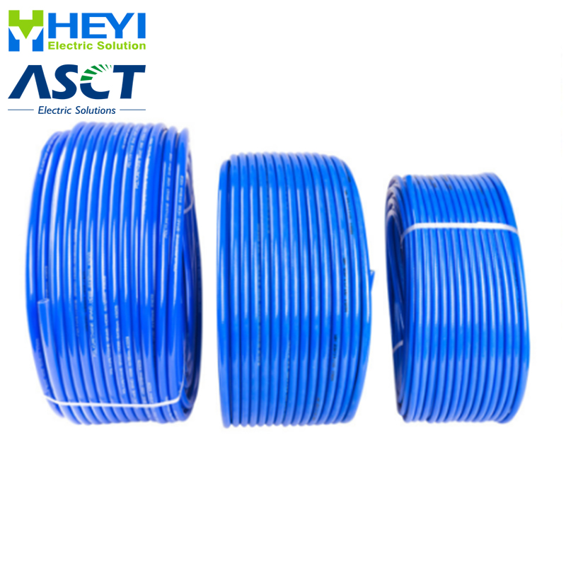 80meters Factory OD/ID 4*2.5mm 6*4mm 8*5mm 10*6.5mm 12*<font><b>8mm</b></font> 14*10mm 16*12mm For Pneumatic Parts Component Pu Tube Air <font><b>Hose</b></font> Pipe image