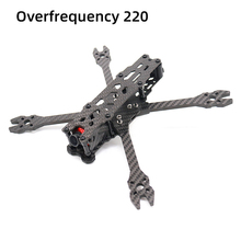 цена на TCMMRC FPV Frame Kit Carbon Fiber Overfrequency 220 220mm 5 Inch  5mm Arm With 3D Printed Parts for RC FPV Racing Drone