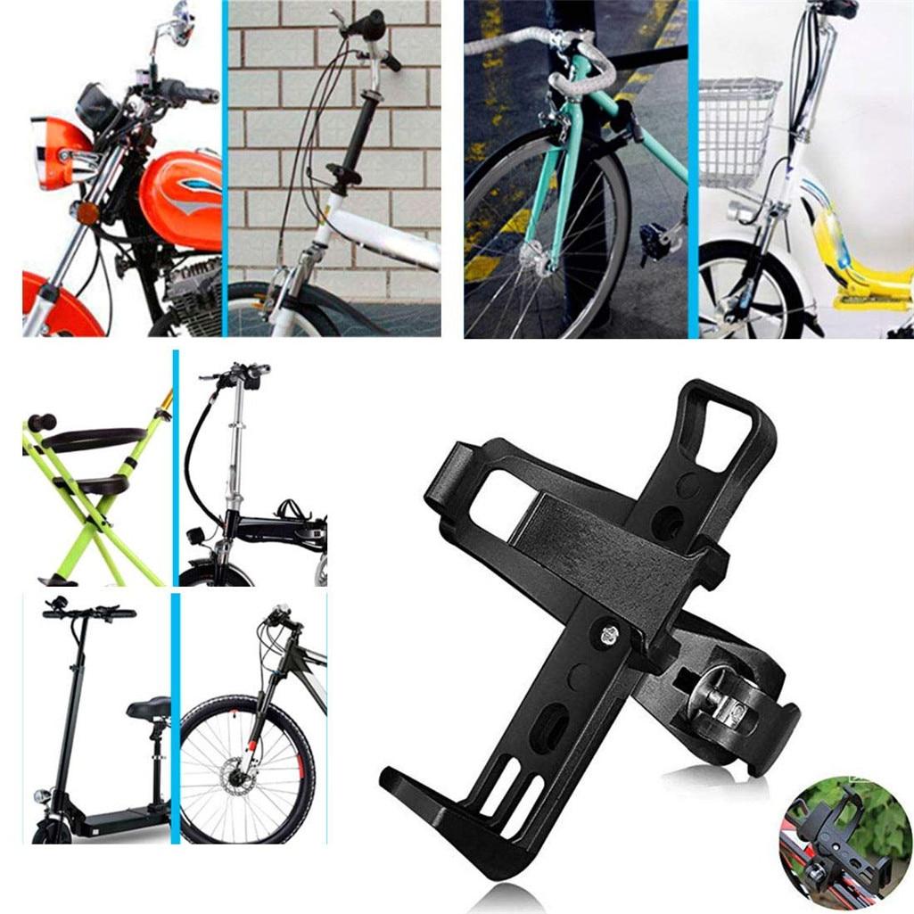 Rotación 360 grados bicicleta agua Holder Botellas jaula adaptador de montaje