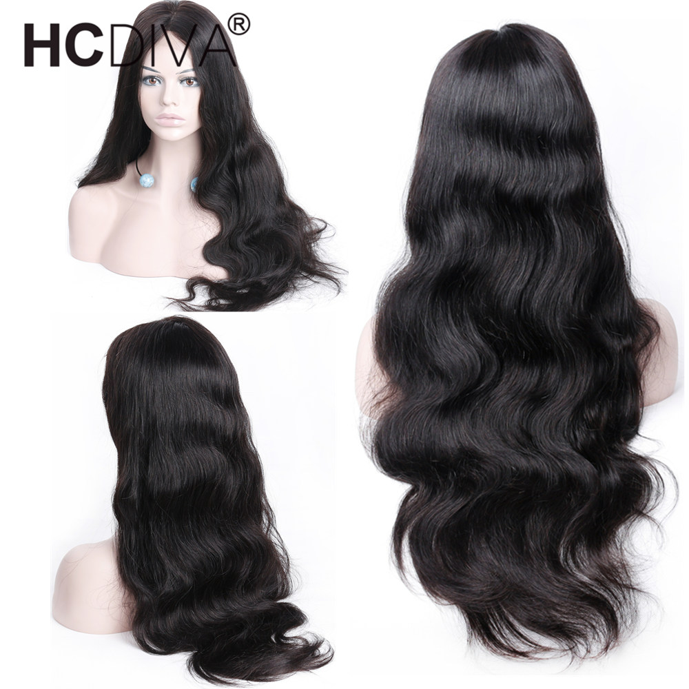 13*6 Body Wave Lace Front Human Hair Wig Pre Plucked With Baby Hair 150% Remy Brazilian Wig 13*4 Lace Front Wig For Black Women