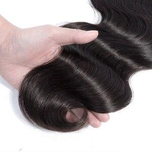 Image 5 - Fasci di capelli umani brasiliani dellonda del corpo dei capelli di Bling 8 30 pollici fasci di tessuto brasiliano dei capelli 3/5/10PCS estensione allingrosso dei capelli di Remy