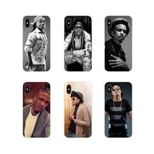Para iPhone X de Apple XR XS 11Pro MAX 4S 5S 5C SE 6 6S 7 7 Plus ipod touch 5 6 caja del teléfono de la moda POP firmante August Alsina estrella de la música
