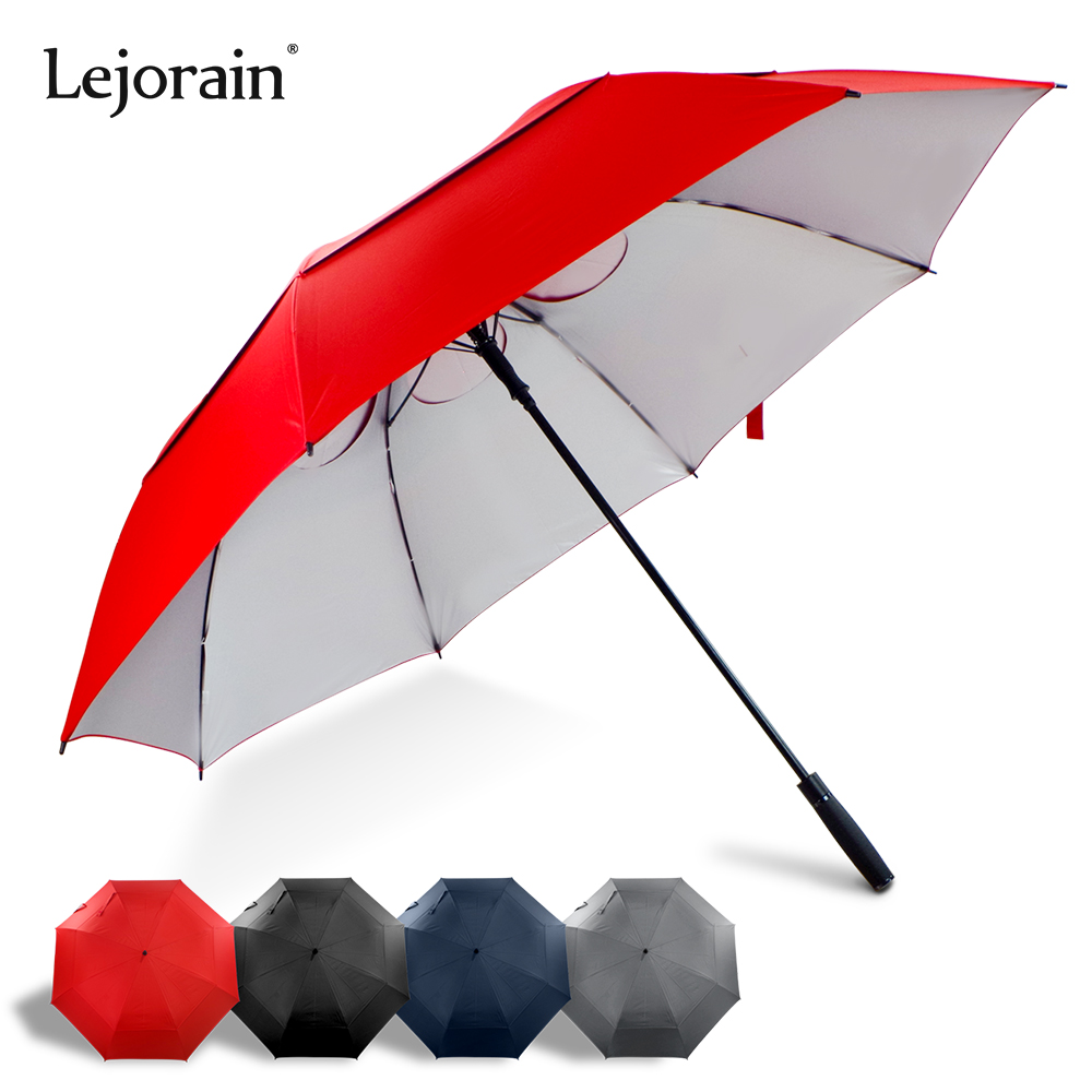 <font><b>Golf</b></font> <font><b>umbrella</b></font> long handle uv sun protection storm wind resistant windproof <font><b>umbrella</b></font> <font><b>big</b></font> man red black color large <font><b>umbrella</b></font> image