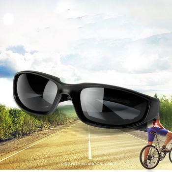 Okulary rowerowe okulary przeciwsłoneczne Biker jazda motocyklem okulary przeciwsłoneczne spolaryzowane okulary rowerowe okulary sportowe moda okulary Biker tanie i dobre opinie