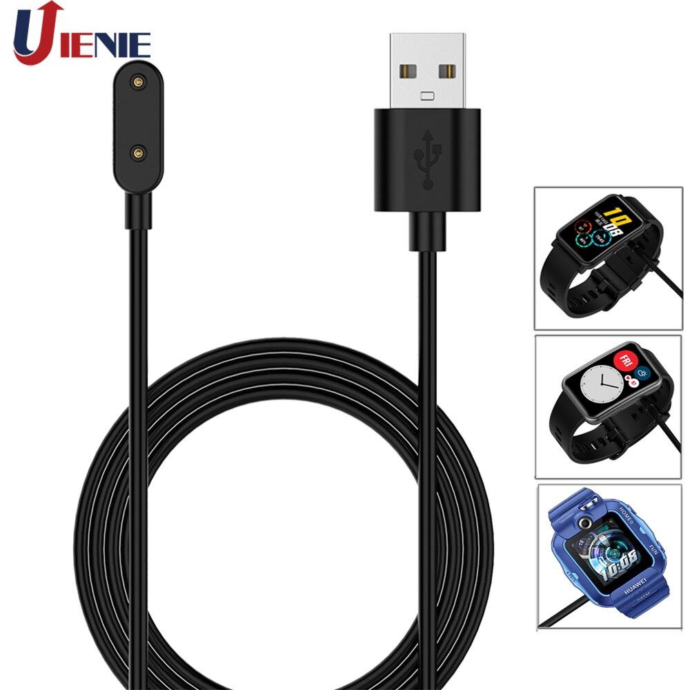 Station de chargement avec câble USB de 1M, pour Huawei Watch Fit / Honor Smart Watch ES, Bracelet pour enfants, adaptateur dalimentation 4X