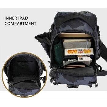 Sports Men Tactical Hiking Backpack Chest Bag Military Fishing Shoulder Sling Climbing Camping Mochila Militar 2019 New XA209D 4