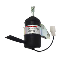 Fuel Shut Off Solenoid 16851-60014  052600-4531 for Denso B7410D BX1500D BX1800D