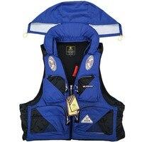 Multi Pocket Life Jacket Reflective Buoyancy Aid Swimming Boating Sailing Fishing Life Jacket Vest Water Sports Man Life Jacket