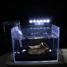 Wysoka dioda LED dużej mocy oświetlenie do akwarium wysokiej jasności lampa energooszczędna rośliny lampa do uprawy roślin kreatywna lampa Clip-on z wtyczką ue biały tanie tanio CN (pochodzenie) Klips