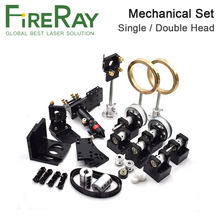 Fireray Co2 Laser Metal Parts Transmission Laser head Set Mechanical Components for DIY CO2 Laser Engraving Cutting Machine цена 2017