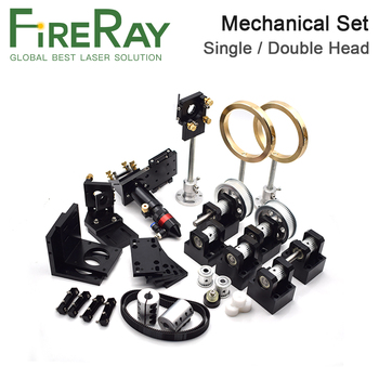цена на Fireray Co2 Laser Metal Parts Transmission Laser head Set Mechanical Components for DIY CO2 Laser Engraving Cutting Machine