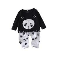 1T 4T Boy Cotton 2pcs Baby's Sets Long Sleeve Kids Boys Children Sets underwear two piece toddler boy clothes