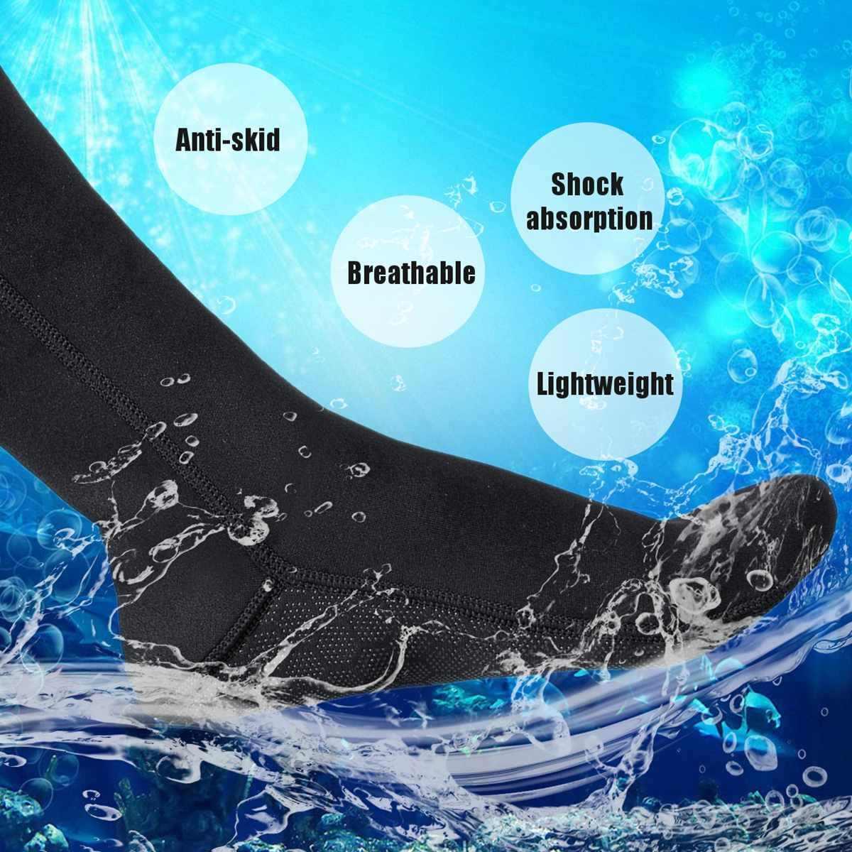 XS-XL Zwemmen Seaside Scuba Sokken Wetsuit Neopreen Duiken Sokken Warming Snorkelen Sokken Strand Laarzen
