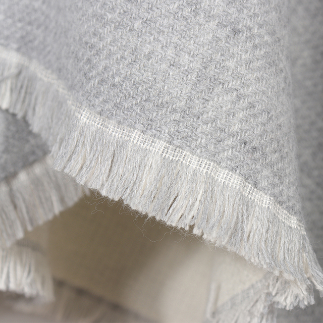 New Fashion Double Sides Winter Poncho Cashmere Women Poncho Scarf Foulard Femme Wool Shawl Poncho And Caps Tassle 5