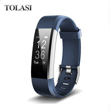 Smartch Asli ID115HR Plus Denyut Jantung Smart Band Watch ID115 HR Bluetooth Call Pengingat Kebugaran Tracker Gelang ID115 Reloj(China)