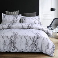 Duvet Cover & Pillow Shams Set Nordic Style 8 Size Single Double Full Queen King Size 150x200 200*200 240/220 Size