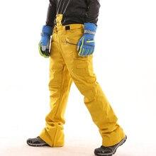 Goexplore ore брюки для сноуборда для мужчин и женщин водонепроницаемые ветрозащитные дышащие теплые зимние горные спортивные брюки лыжные брюки мужские