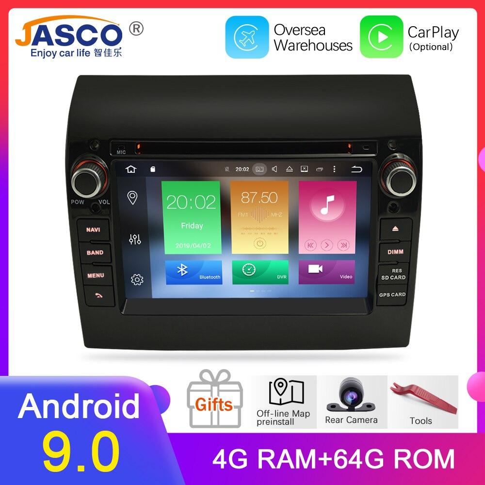 Nouveau lien Ram 4G Android 9.0 9.1 autoradio pour Fiat Ducato cavalier Boxer 2GB RAM DVD Headunit Bluetooth GPS Navigation TDA7851