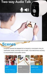 Image 3 - Draadloze Beveiliging Camera,1080P Wifi Batterij Camera Met Twee Weg Audio, Ir Nachtzicht, pir Motion Sensor, Indoor/Outdoor