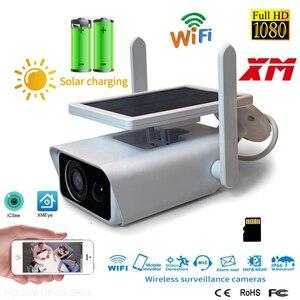 Waterproof Home Security Solar Energy WIFI IP Camera 1080P HD CCTV Network Outdoor Indoor IR Wireless Surveillance Cameras