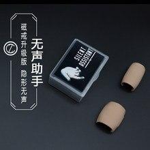 Assistente silencioso pk anel função magia mágico fase perto ilusão acessórios truques de magia truques adereços mentalismo