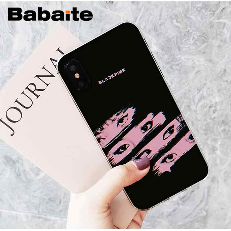 Babaite BLACKPINK JISOO JENNIE ROSE LISA นุ่มซิลิโคนโทรศัพท์กรณีสำหรับ iPhone 8 7 6 6S Plus X XS MAX 5 5S SE XR 11 11pro 11promax