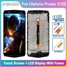 """Neue Original Touchscreen + 2160X1080 LCD Display + Rahmen Montage Ersatz Für Ulefone Power 5/Power 5s 6,0 """"MTK6763 Android 8.1"""