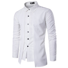 New 2020 Fashion Casual Wholesale Men off two Fake piece Two