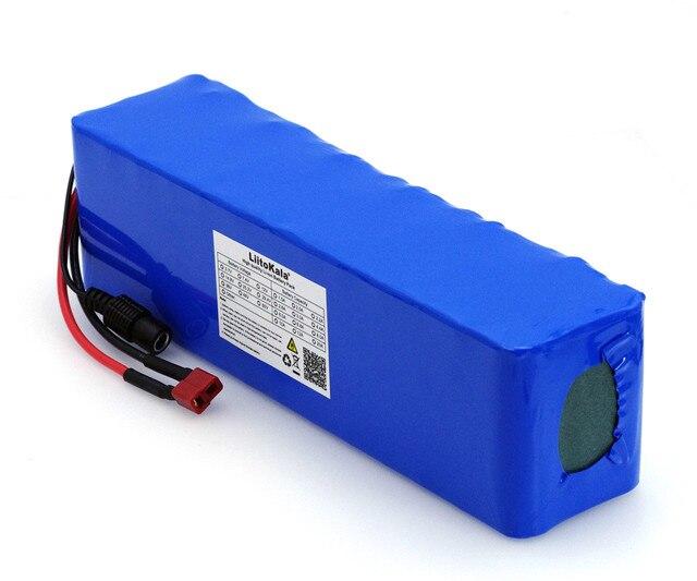 LiitoKala 48V 6ah 13s3p wysokiej mocy 18650 baterii elektrycznego roweru motoroweru motocykl elektryczny DIY baterii 48v osłona BMS + PCB