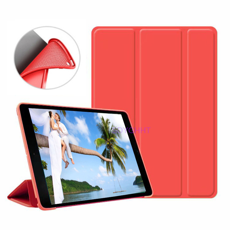 Red 2 Brown 2020 case For iPad 10 2 inch 8th 7th Generation model A2270 A2428 Silicone soft bottom