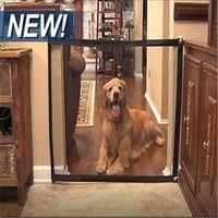 Indoor Hund Isolation Net Tragbare Magie-Tor Katze Klapp Treppen Tür Sicherheit Zaun Zwinger Sicher Tür Pet Trennung Mesh schutz Gat